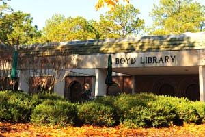 Image link to the Katharine Boyd Library