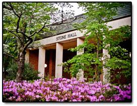 Image of Stone hall on the Pinehurst Main campus.