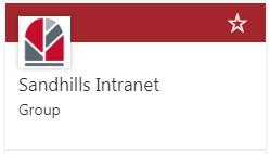 Sandhills Intranet Group